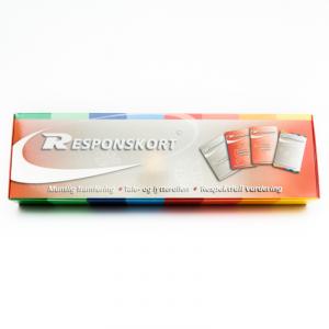 Responskort - box